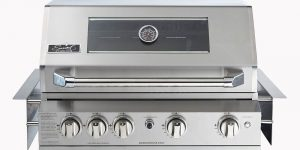 SALE SMART 401WB 4 BURNER INBUILT 304 STAINLESS BBQ LPG Ready ( has NG conversion Kit)-0